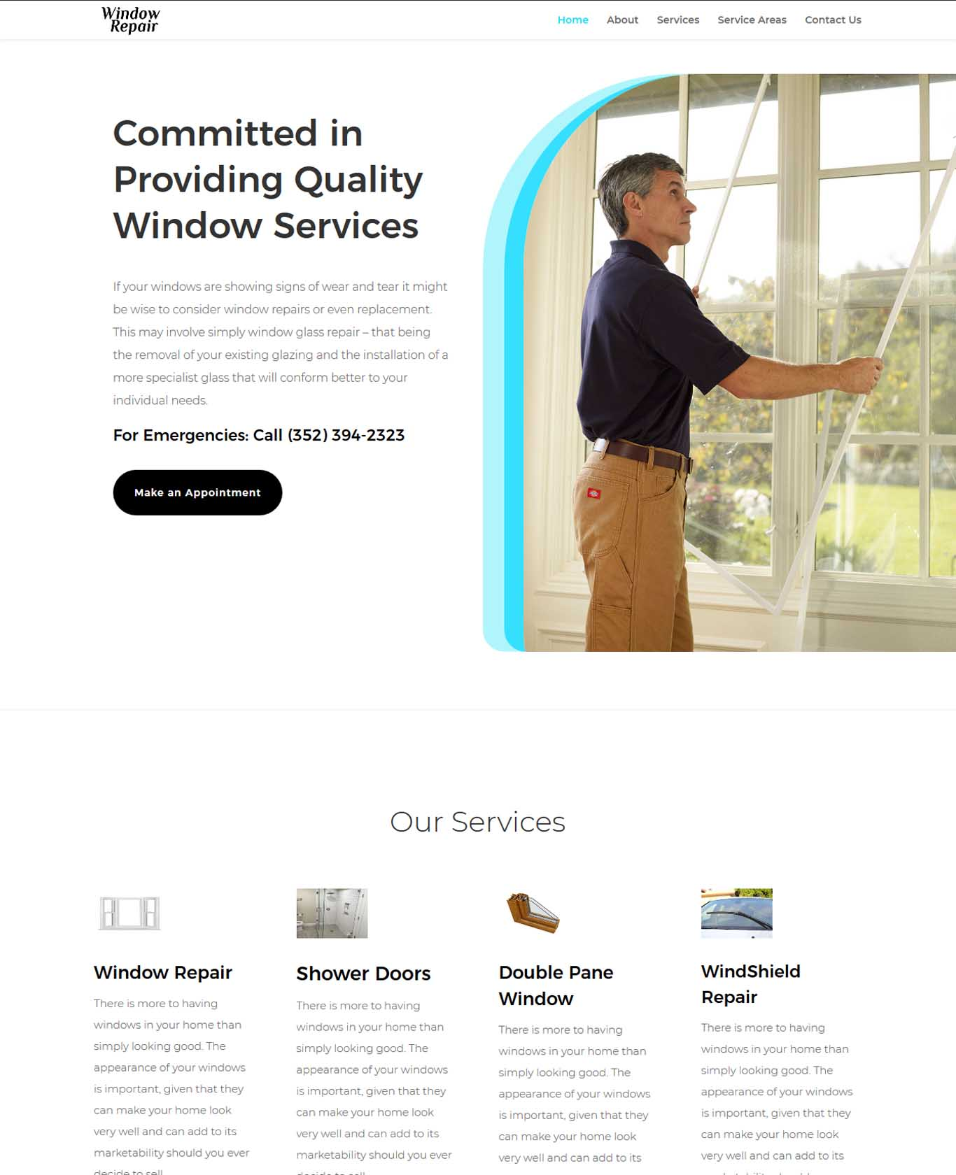 Committed in Providing Quality Window Services Website